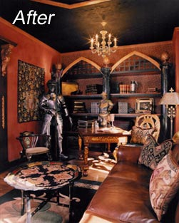 Medieval Library Interior Design Services